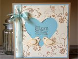 What to Write In A Love Card Flowering Flourishes for An Engagement Greeting Card Craft