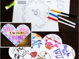 What to Write In A Love Card Foldable Valentine S Day Card for Students Valentines Day