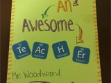 What to Write In A Teachers Day Card Thank You Card for Science Teachers