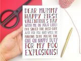 What to Write In A Valentine Card Cute Valentines Cards Lovely Gift for Baby S First Valentine