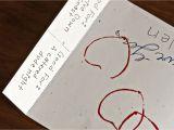 What to Write In A Valentine Card Insideways A Homemade Valentine S Card