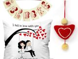 What to Write In A Valentine S Day Card for Your Girlfriend Buy Indigifts Valentines Day Love Quote Romantic Couple On A