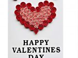 What to Write In A Valentine S Day Card for Your Girlfriend Handmade Quilling Card for Valentines Day for Husband Wife