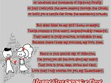 What to Write In A Valentine S Day Card for Your Girlfriend Happy Valentines Day Poems for Her for Your Girlfriend or