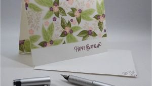 What to Write On A Flower Card Printed Vellum Card Ideas Simple Birthday Cards Prints