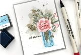 What to Write On A Flower Card Stamp Focus Breezy Bouquet with Images Handmade Cards