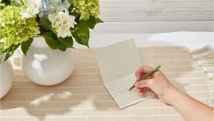 What to Write On A Funeral Flower Card Thank You Note Samples for after A Funeral