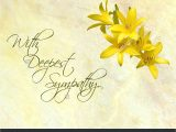 What to Write On A Sympathy Flower Card Stock Photo Sympathy Card Featuring Pretty Day Lilies On A