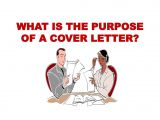 Whats the Purpose Of A Cover Letter What is the Purpose Of A Cover Letter Ppt Download