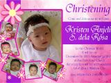 Whatsapp Invitation Card for Kitty Party 25 Luxury Layout Design for Baptism