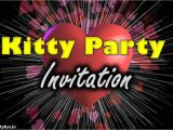 Whatsapp Invitation Card for Kitty Party Love theme Kitty Party Invite Games Ideas Valentine