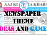 Whatsapp Invitation Card for Kitty Party Newspaper theme Ideas and Games Kittyfun