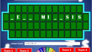 Wheel Of fortune Game Template for Powerpoint 101 Science Websites for Teachers Earth Life Physical