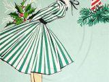 When is the Christmas Card On Hallmark Retro Christmas Card Vintage Christmas Card Antique