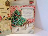 When is the Christmas Card On Hallmark Vintage Hallmark Christmas Card Advent Calendar Santa Claus