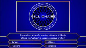 Who Wants to Be A Millionaire Powerpoint Template with Music who Wants to Be A Millionaire Template Madinbelgrade