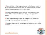 Why is A Cover Letter Important Job Application Writing Importance Of Cover Letter