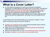 Why is A Cover Letter Important Translation Tips Week Ppt Download