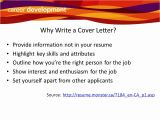 Why Write A Cover Letter Writing Cover Letters Ppt Video Online Download