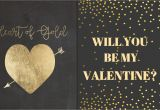 Will You Be My Valentine Card Buncee Valentine Sday Heart Gold Cards Templates