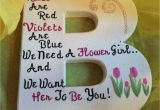 Will You Be Our Flower Girl Card Such A Cute Way to ask the Little One to Be Your Flower Girl