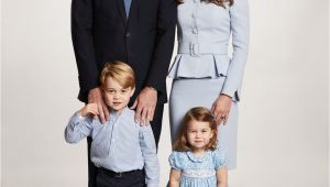 William and Kate Christmas Card Kensington Palace On Kate Middleton Family Prince William