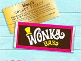 Willy Wonka Candy Bar Wrapper Template Willy Wonka Chocolate Bar Wrapper Willy Wonka Printable