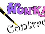 Willy Wonka Contract Template Contract and Party Ideas Wonka Party Pinterest Signs