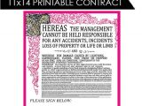 Willy Wonka Contract Template Items Similar to Willy Wonka Inspired Contract Instant