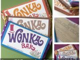 Willy Wonka Invitations Templates Scrumdiddlyumptious Wonka Bar Invites How to Make Your