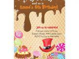 Willy Wonka Invitations Templates Willy Wonka Birthday Invitations Zazzle