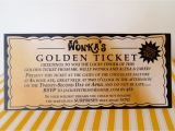 Willy Wonka Invitations Templates Willy Wonka Golden Ticket Invitation Digital Printable