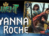 Win A Unique Card From Vernon Roche Gwent the Roche Abuse the Triple Roche Deck by Drdenuz