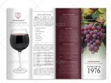 Wine Brochure Template Free 10 Bar and Lounge Brochure Templates