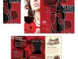 Wine Brochure Template Free Vineyard Winery Tri Fold Brochure Template Http Www