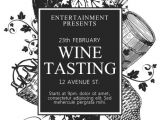 Wine Tasting event Flyer Template Free Wine Tasting Flyer Template Postermywall