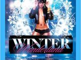 Winter Wonderland Flyer Template Graphicriver Winter Wonderland Flyer Template