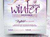 Winter Wonderland Flyer Template Winter Wonderland Christmas Flyer Template by Mrkra
