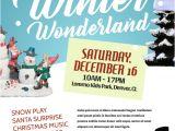 Winter Wonderland Flyer Template Winter Wonderland Flyer Template Postermywall