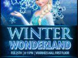 Winter Wonderland Flyer Template Winter Wonderland Frozen Inspired Flyer Designs by Denna