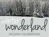 Winter Wonderland Flyer Template Winter Wonderland Template Postermywall