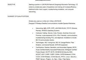 Wireless Network Engineer Resume Network Engineer Resume Template 9 Free Word Excel