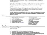Wireless Network Engineer Resume Wireless Network Engineer Objectives Resume Objective