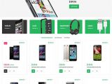 Woo Commerce Template 5 Mobile Store Woocommerce themes Templates Free