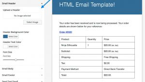 Woocommerce Email Templates Free Woocommerce Email Customizer Woocommerce