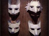 Woodland Animal Mask Templates Woodland Animal Mask Set