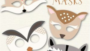 Woodland Animal Mask Templates Woodland Animal Masks My Blog Posts Pinterest
