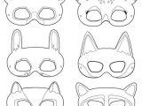 Woodland Animal Masks Template 25 Best Ideas About Animal Masks On Pinterest Paper