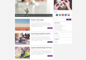 Word Press Blog Templates 100 Best Personal Blog WordPress themes Techclient
