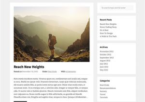 Word Press Blog Templates Blogger Free WordPress theme Wpexplorer